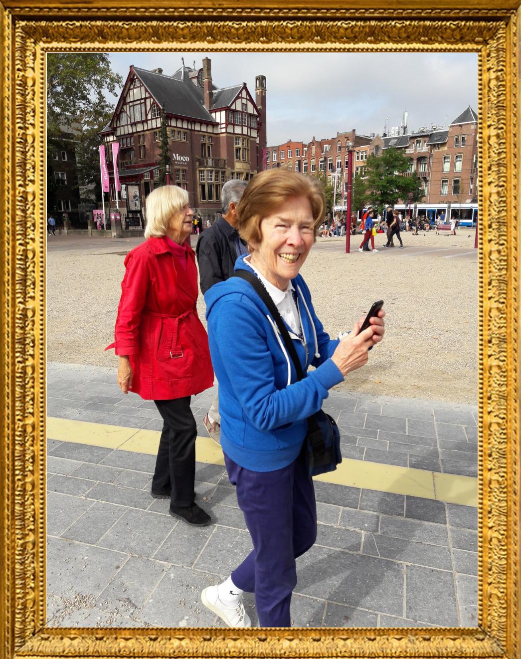 De Dementievriendelijke Buurt - Door de buurt flaneren Buurtwerk Amsterdam